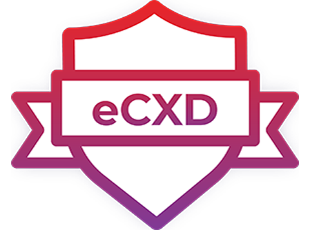 eCXD certification logo